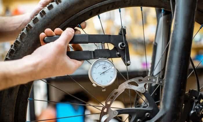 How to measure bike tire