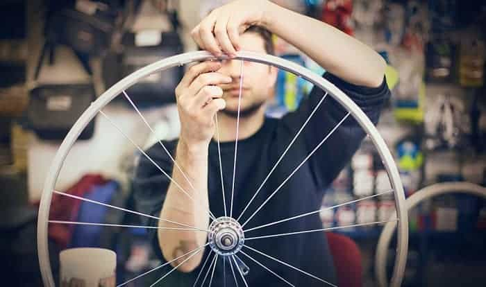 how much does it cost to true a bike wheel