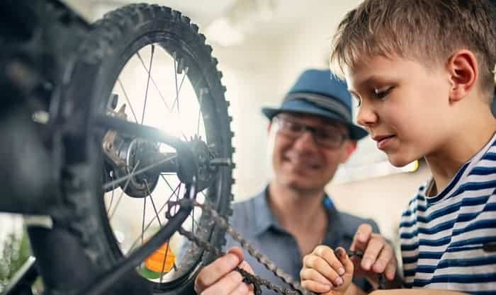 how to emove bike chain without master link