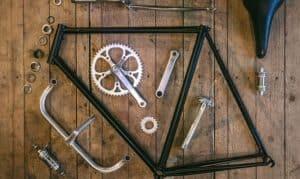 steel or aluminum bike frame