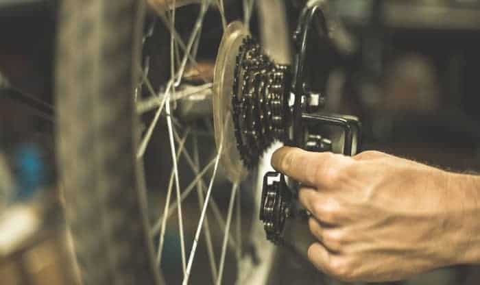 How-do-you-put-a-chain-back-on-a-bike-without-gears