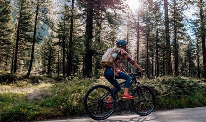 how many miles should i bike a day