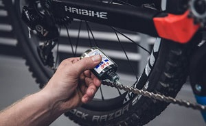 chain-on-a-mountain-bike