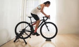 how to turn a bike into a stationary bike