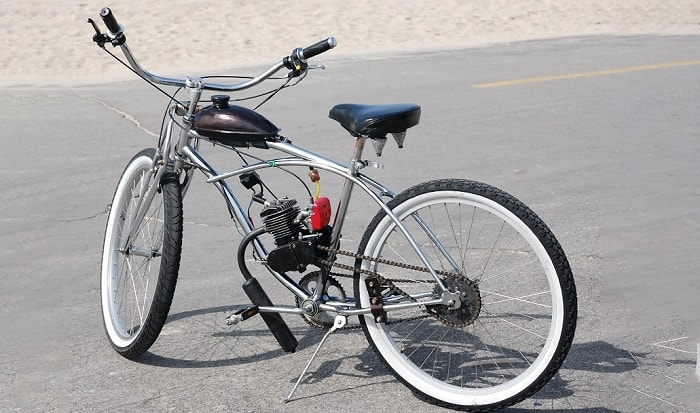 how to build a motorized bicycle from scratch